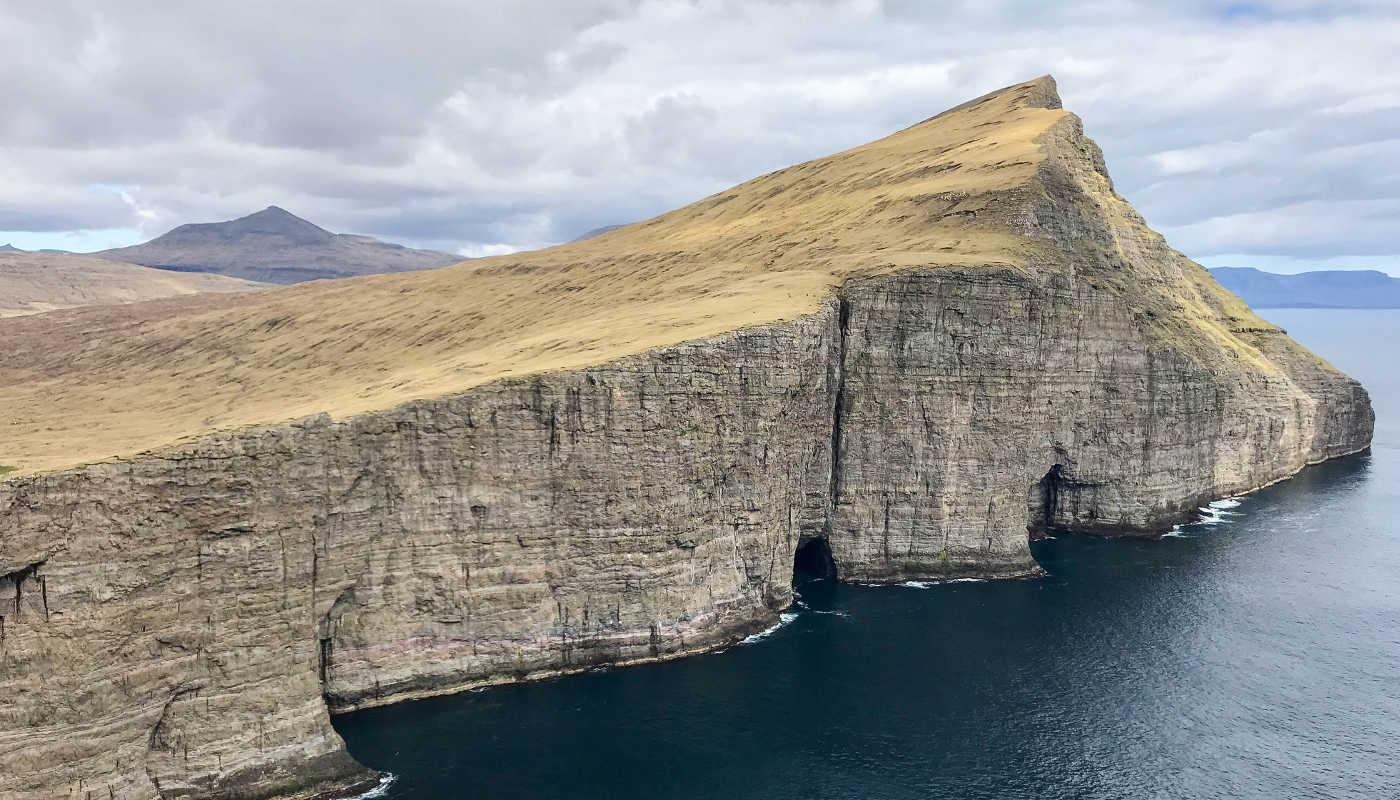 cliff faroe islands
