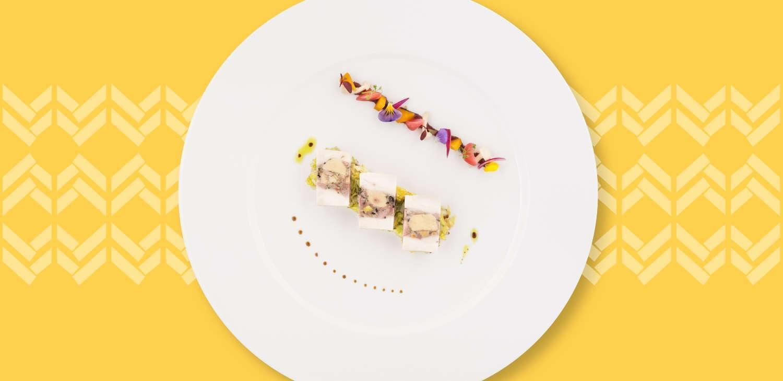 Air France gastronomy.