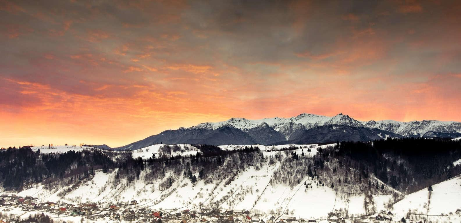 Three valleys view