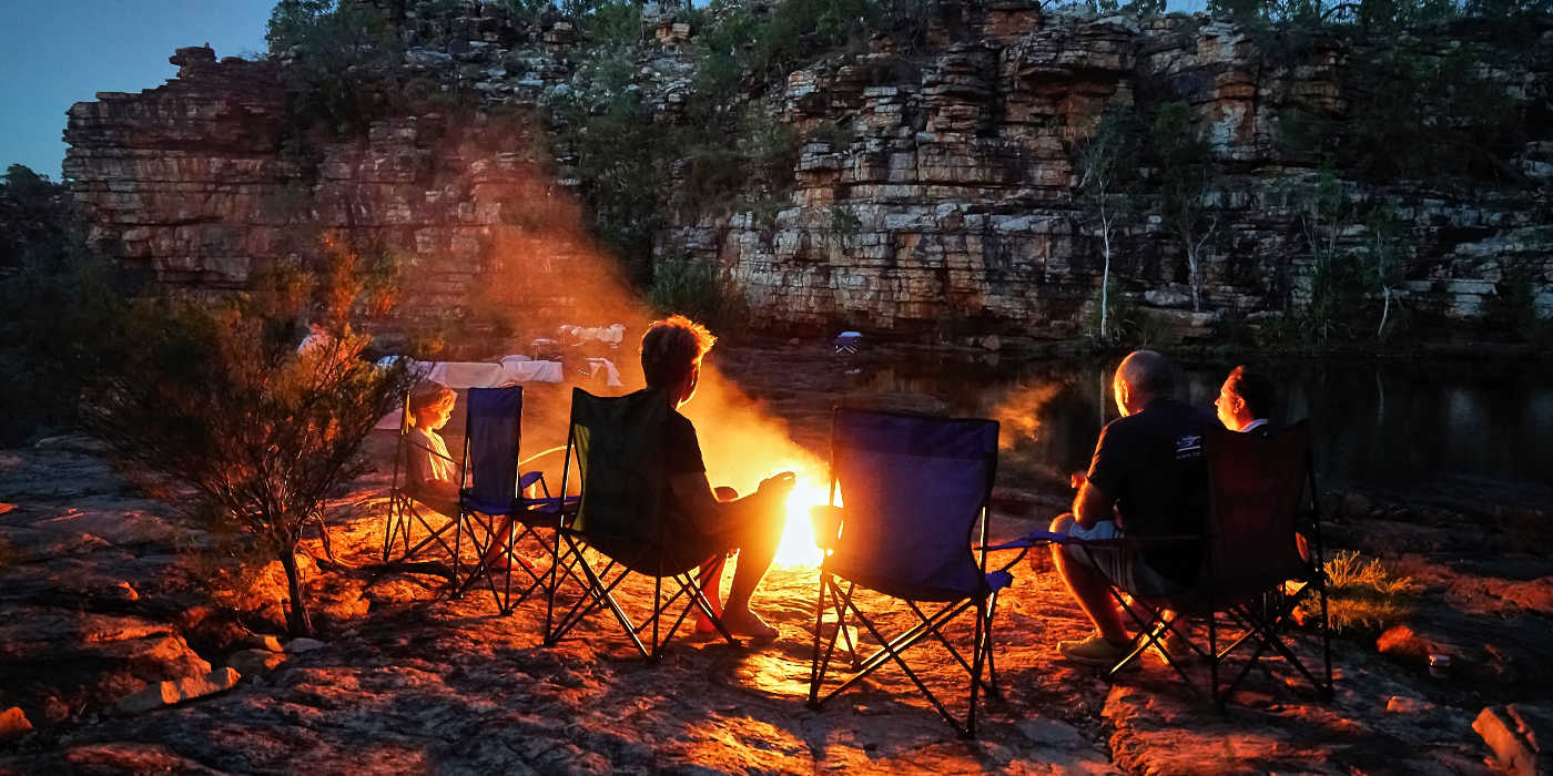 True North kimberley campfire