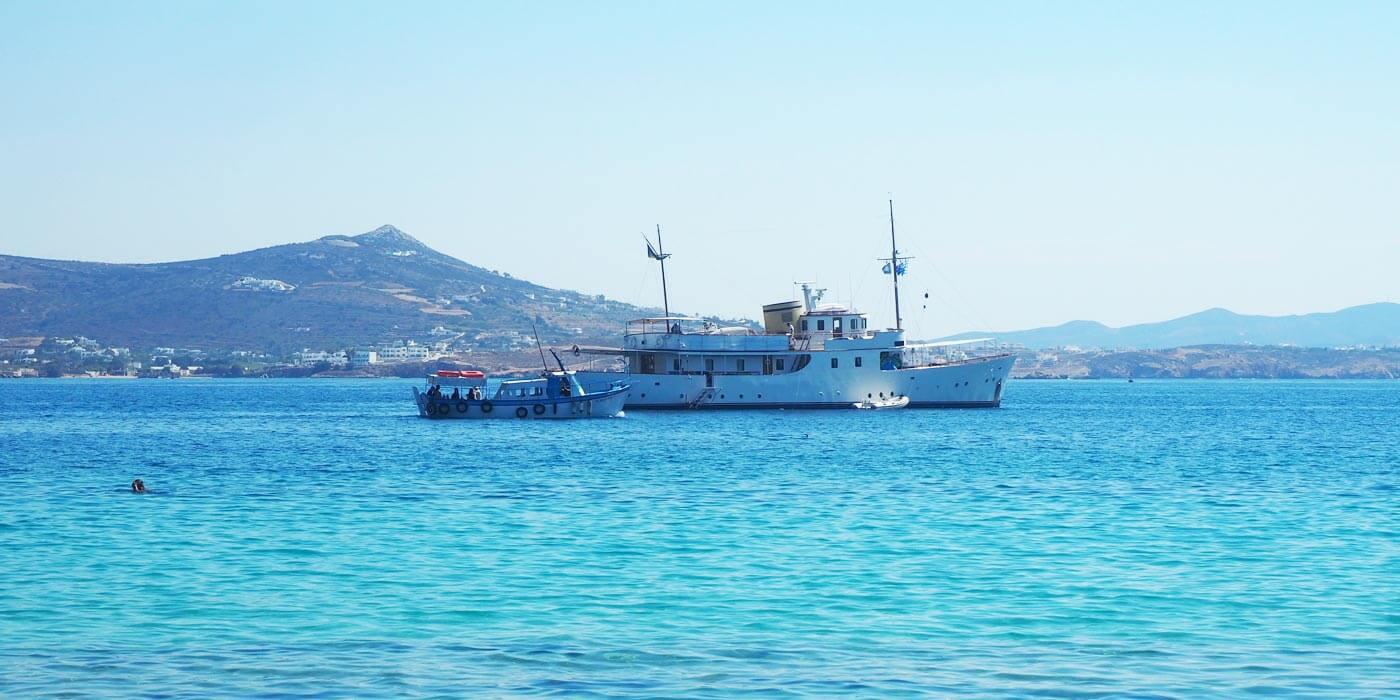 Greek Islands Cyclades Paros and Milos