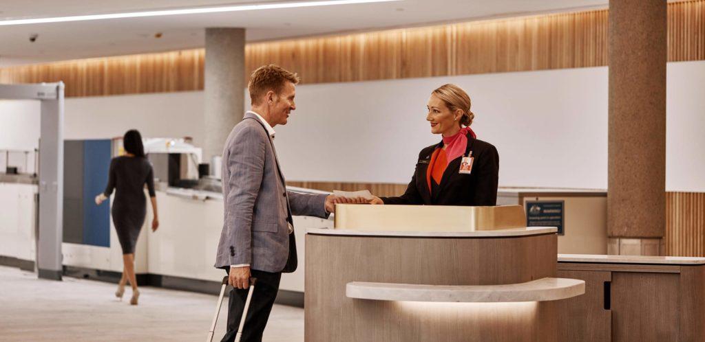 Qantas Lounge Brisbane