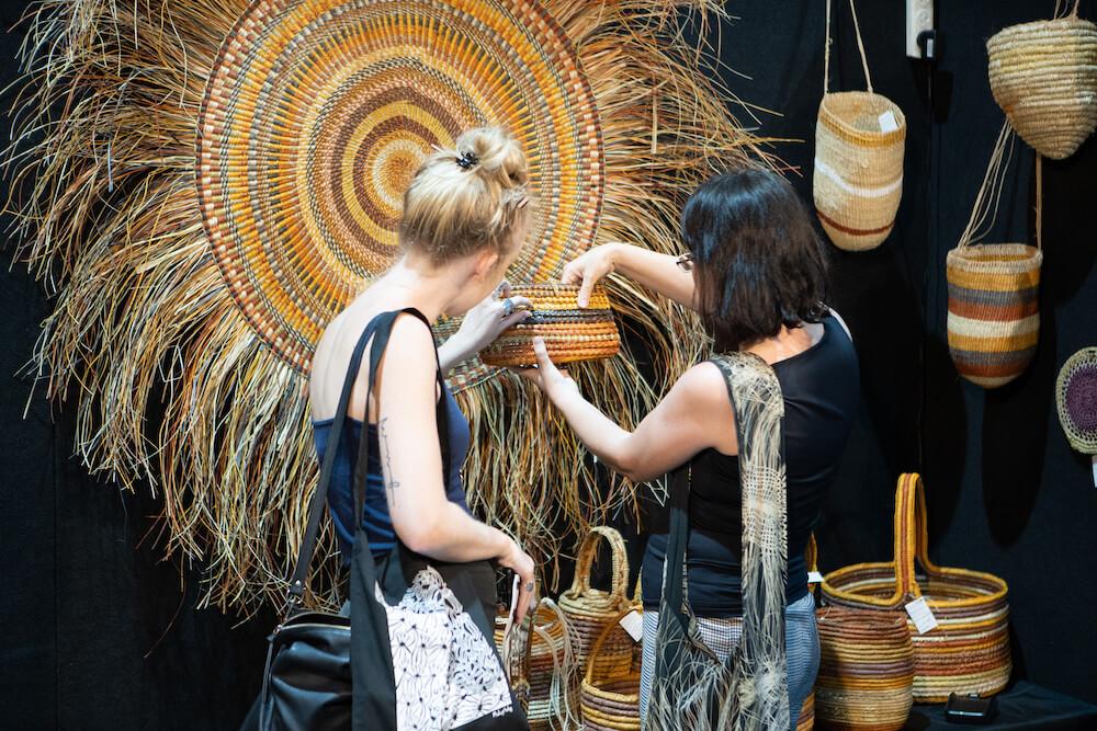 2019 Darwin Aboriginal Art Fair © Dylan Buckee