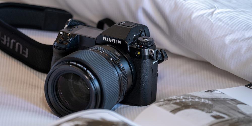 The GFX Suite Fujifilm GFX100S camera