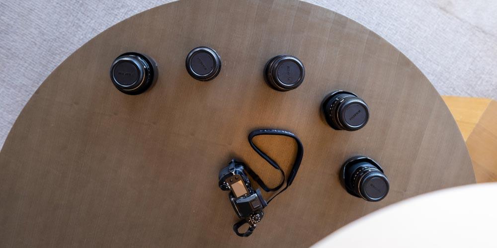 The GFX Suite Fujifilm lenses