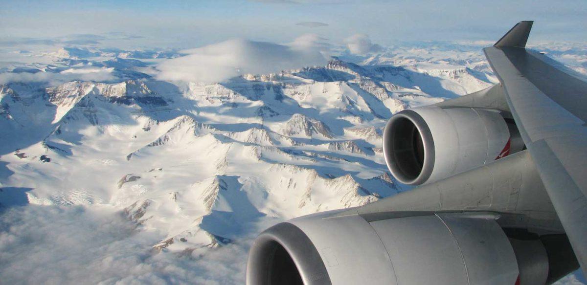 See Antarctica with Qantas