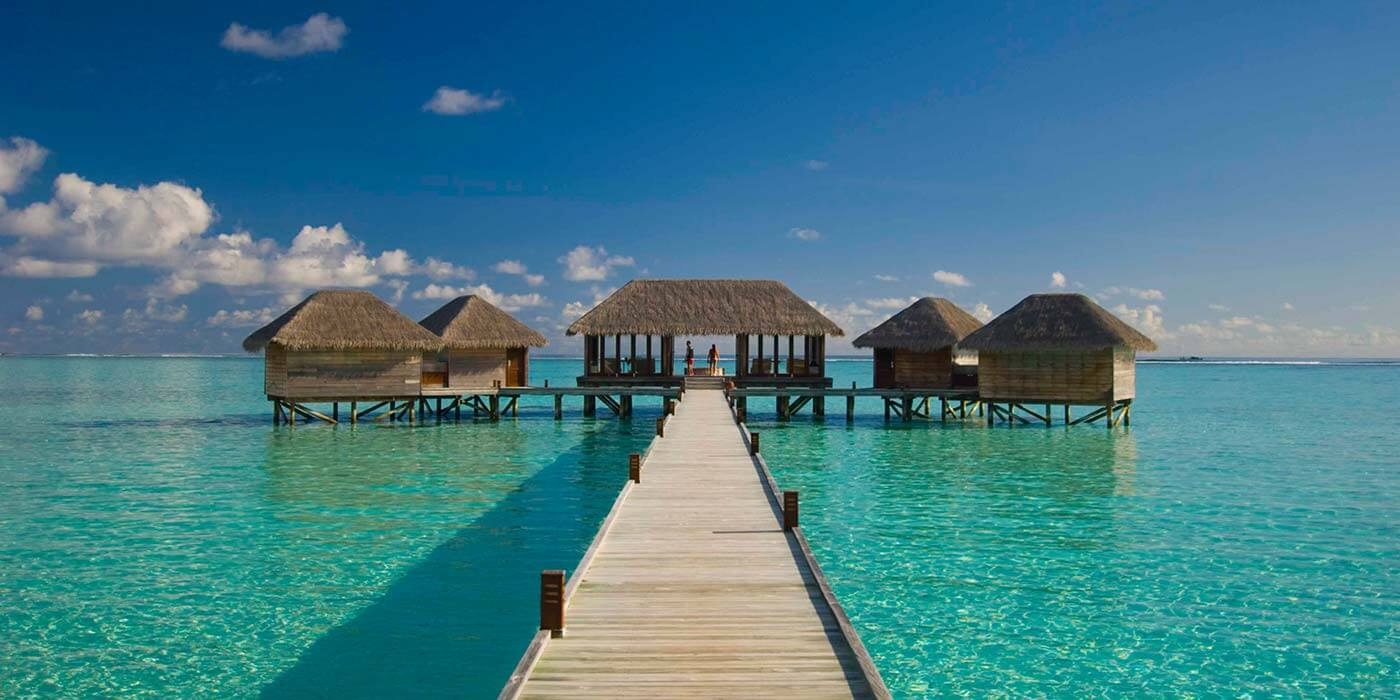 Overwater spa at Conrad Maldives Rangali Island