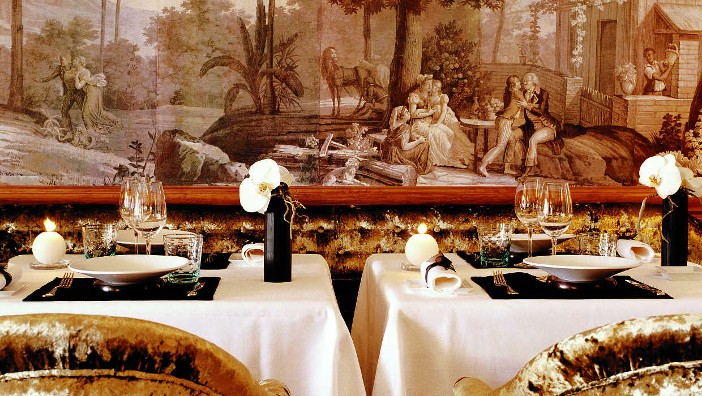 Michelin starred Restaurant du Métropole Monte-Carlo