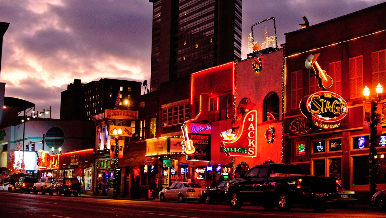 Discover five Southern states with the Americana Music Triangle