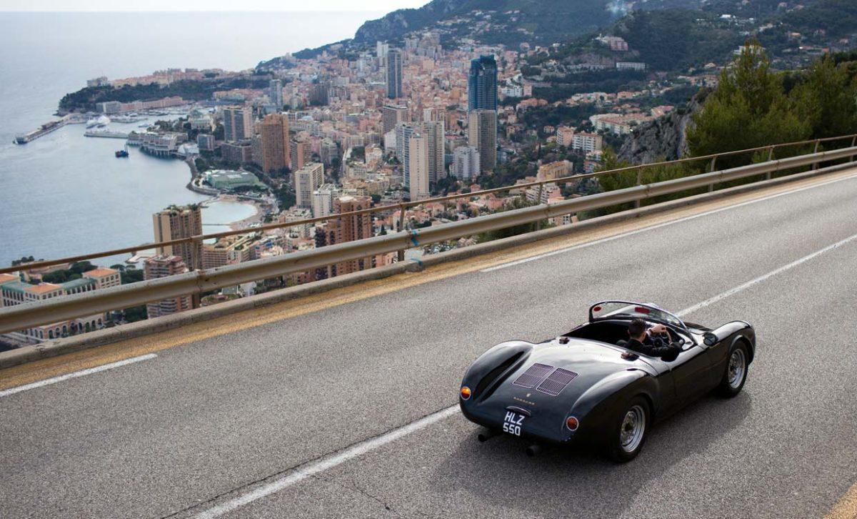 Porsche 550 Spyder in Monaco