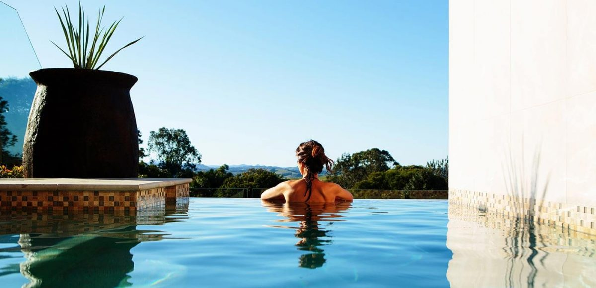 Komala Villa pool infinity, Gaia Retreat & Spa