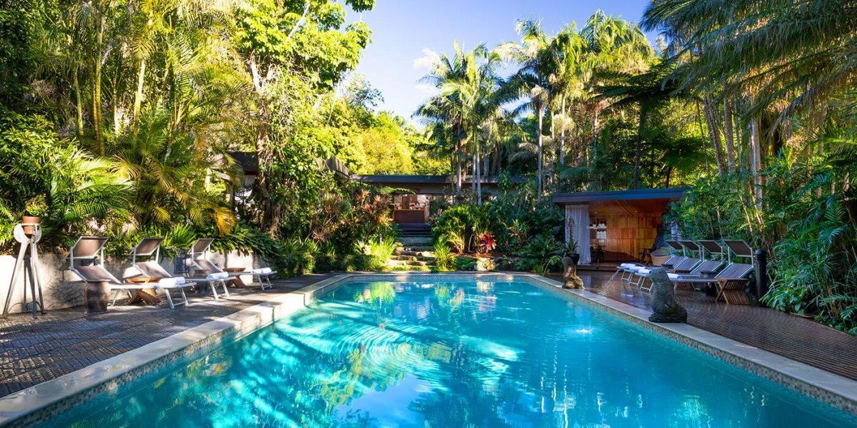 Pool at Gaia Retreat & Spa