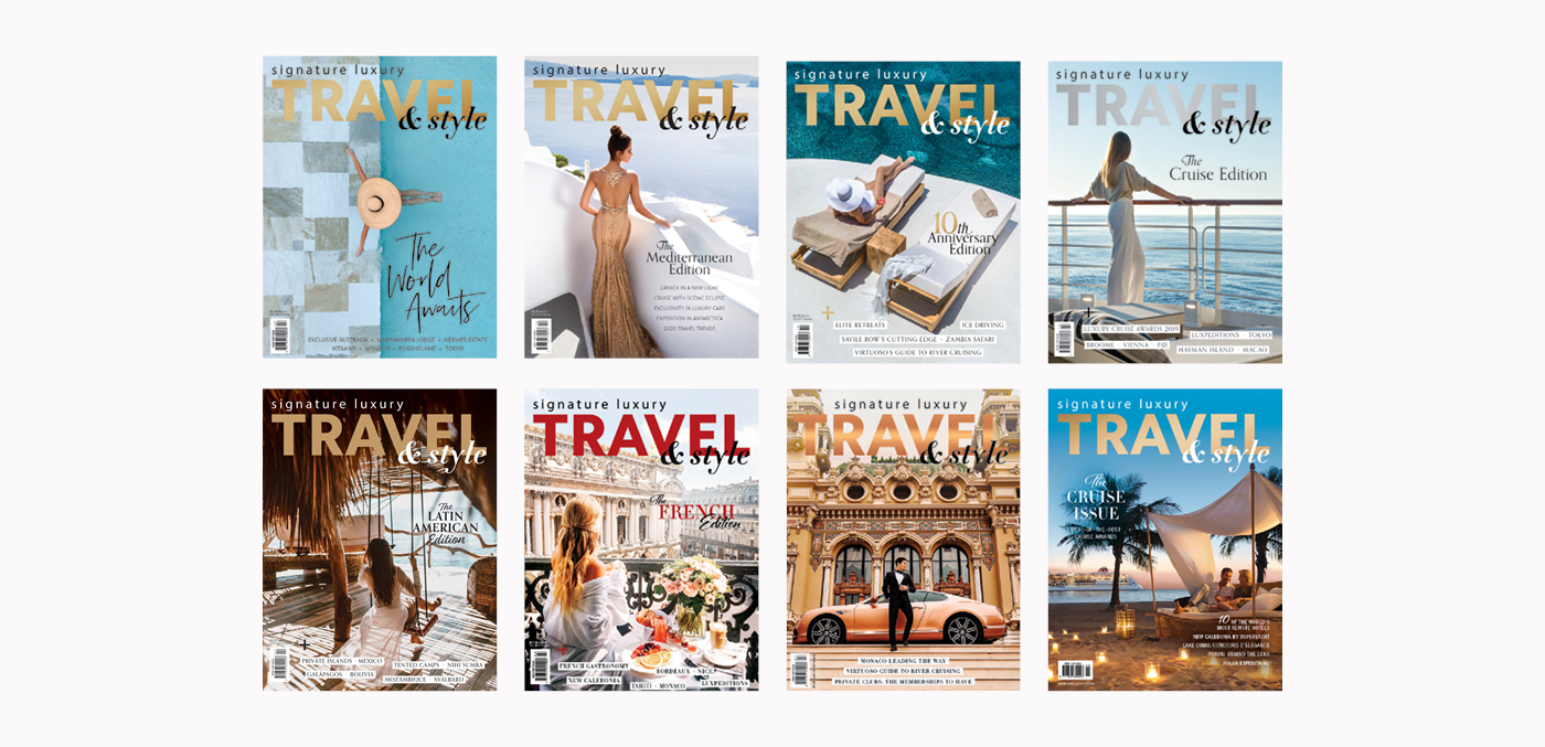 Subscribe to Signature Luxury Travel & Style