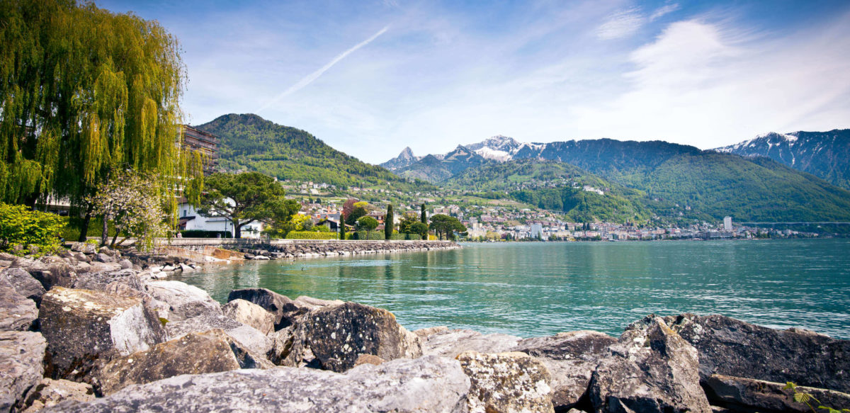 Montreux Riviera; the Pearl of Lake Geneva
