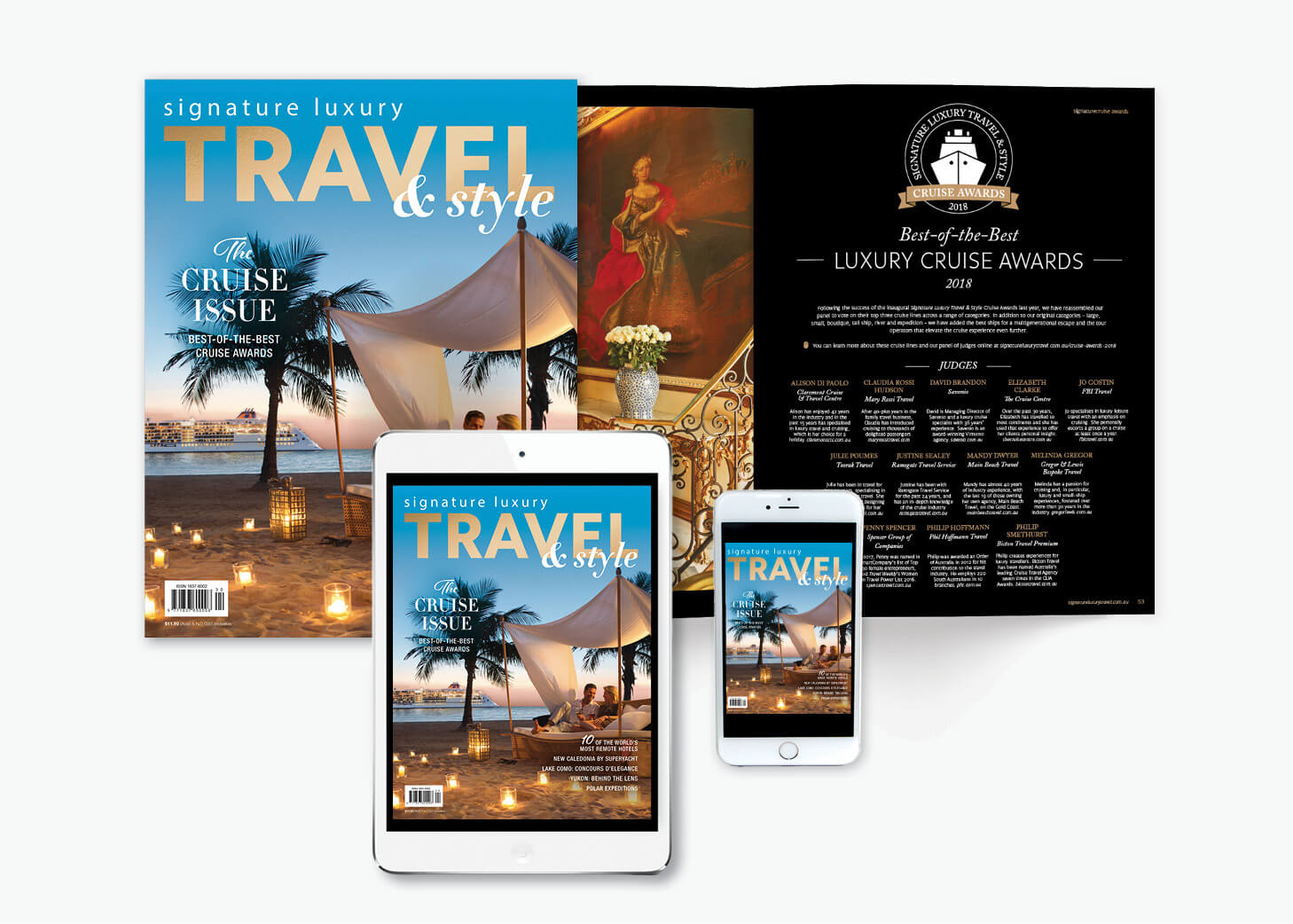 subscribe Signature Luxury Travel & Style