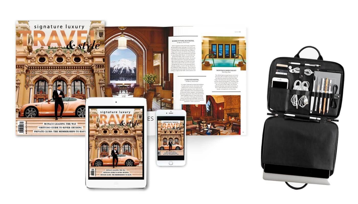 subscribe Signature Luxury Travel & style