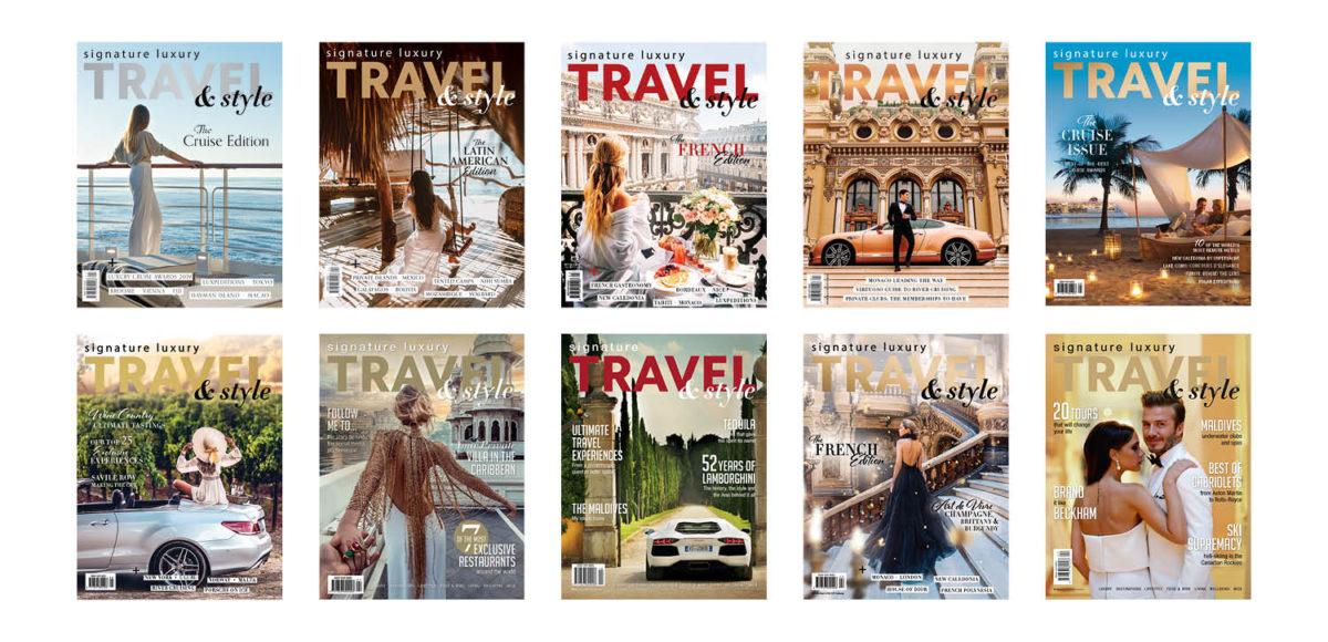 Subscribe to Signature Luxury Travel & Style magazine
