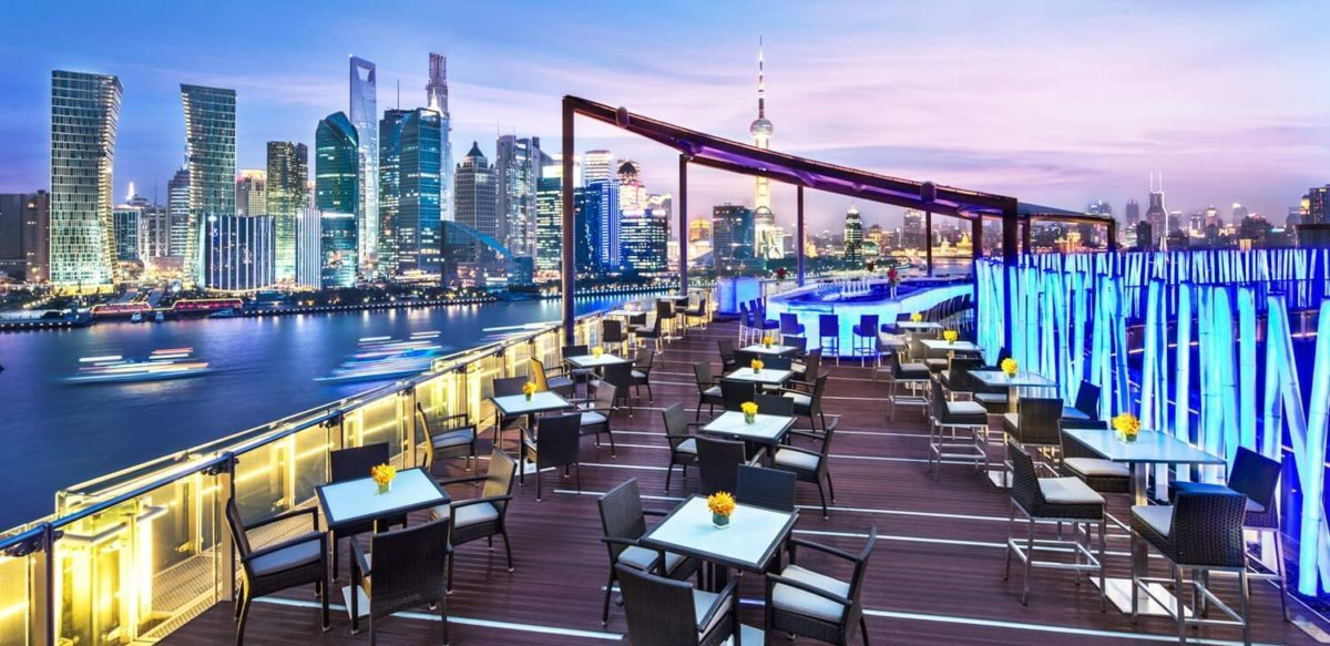 Banyan Tree Shanghai on the Bund TOPS Bar