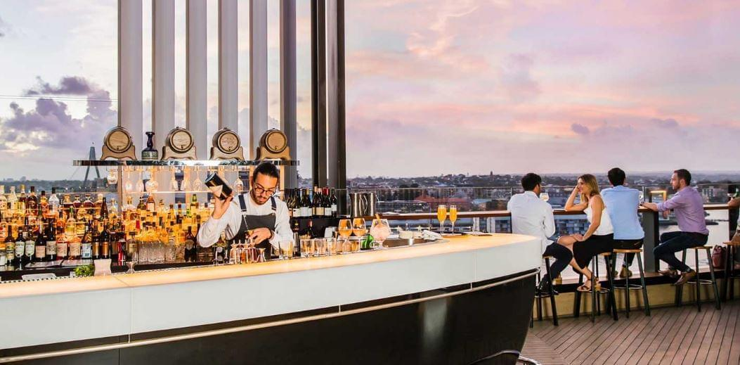Zephyr Sky Bar at Hyatt Regency Sydney