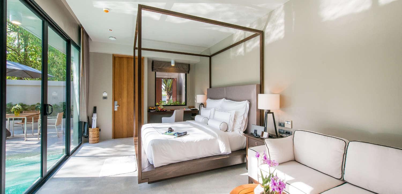 Aleenta Phuket Grand Deluxe Pool Villa Bedroom