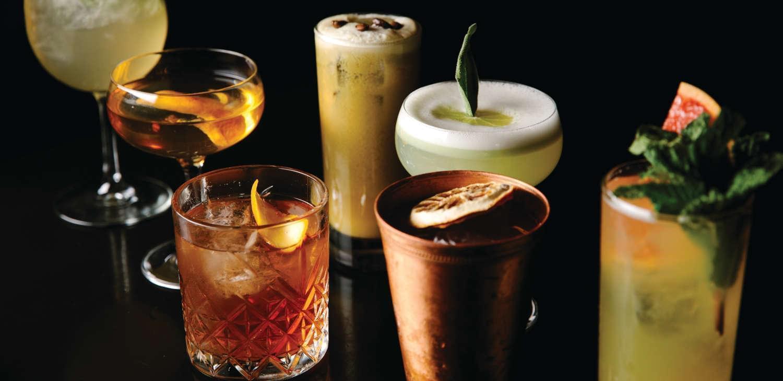 Bathtub Gin Bar Cocktails
