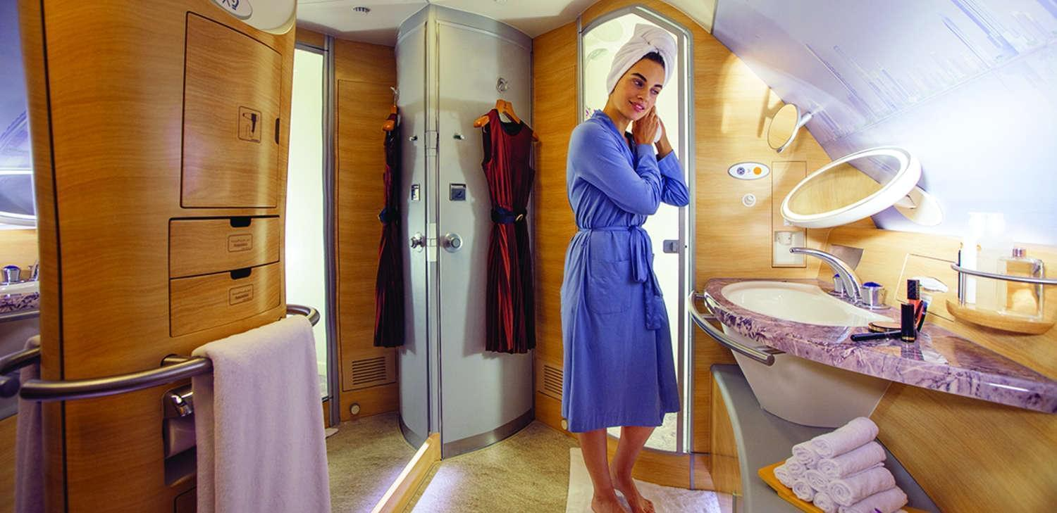 Emirates first class spa