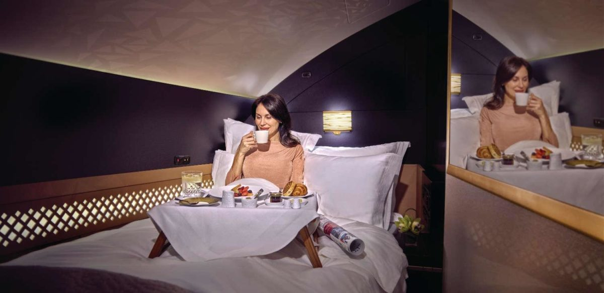 Etihad's The Apartment. Image credit Etihad.