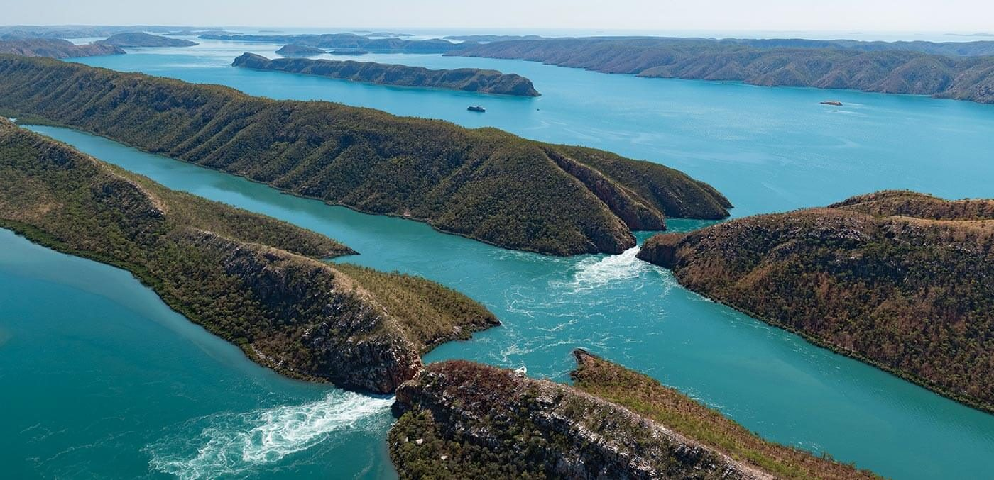 Explore the phenomenon that is the Horizontal Waterfalls on a PONANT expedition