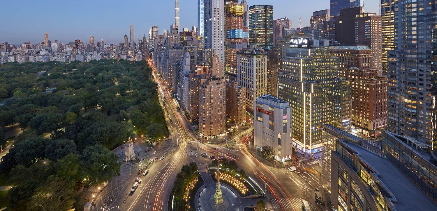 The incredible view from Mandarin Oriental, New York