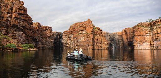 Ponant Kimberley cruise