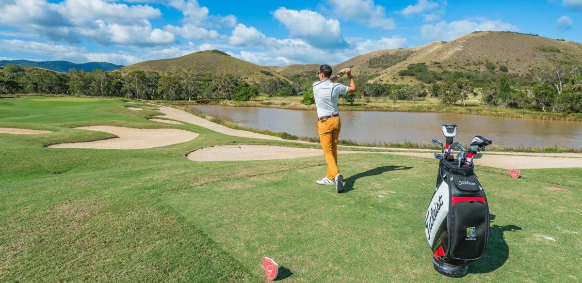 Golfing in New Caledonia