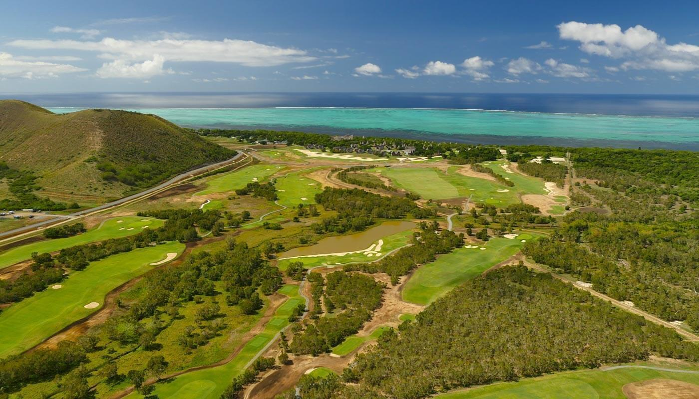 Golf Course in New Caledonia