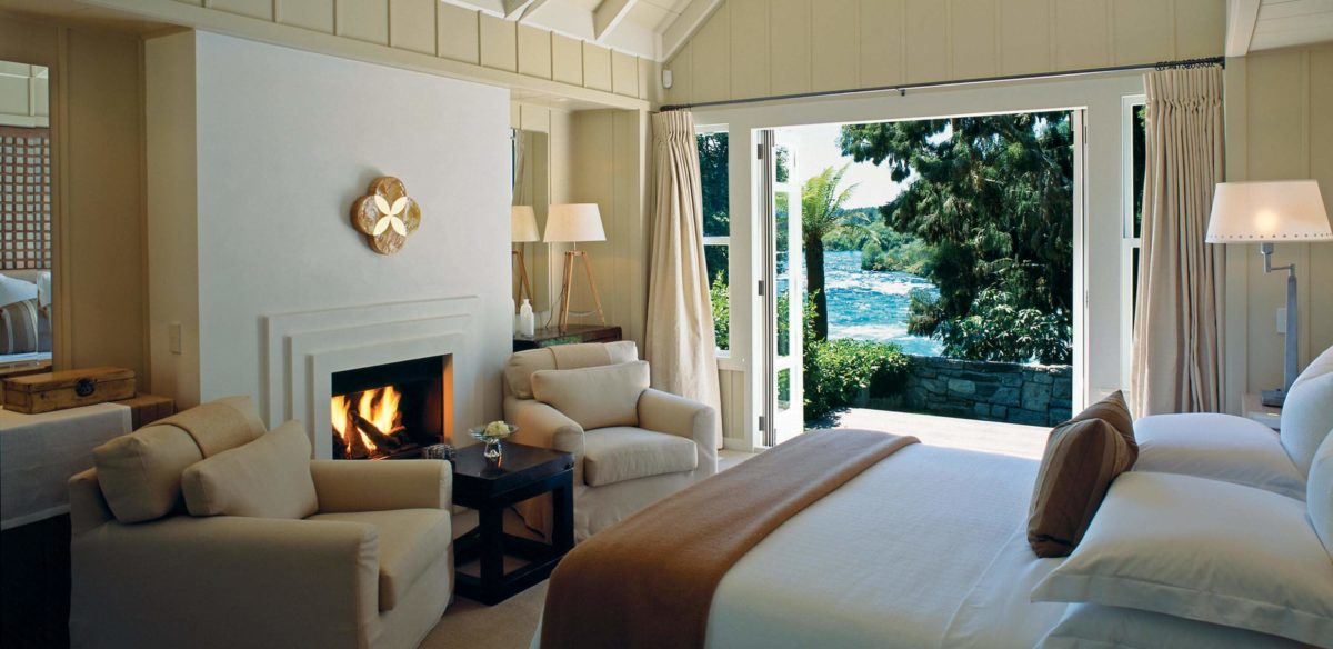 Huka Lodge suite