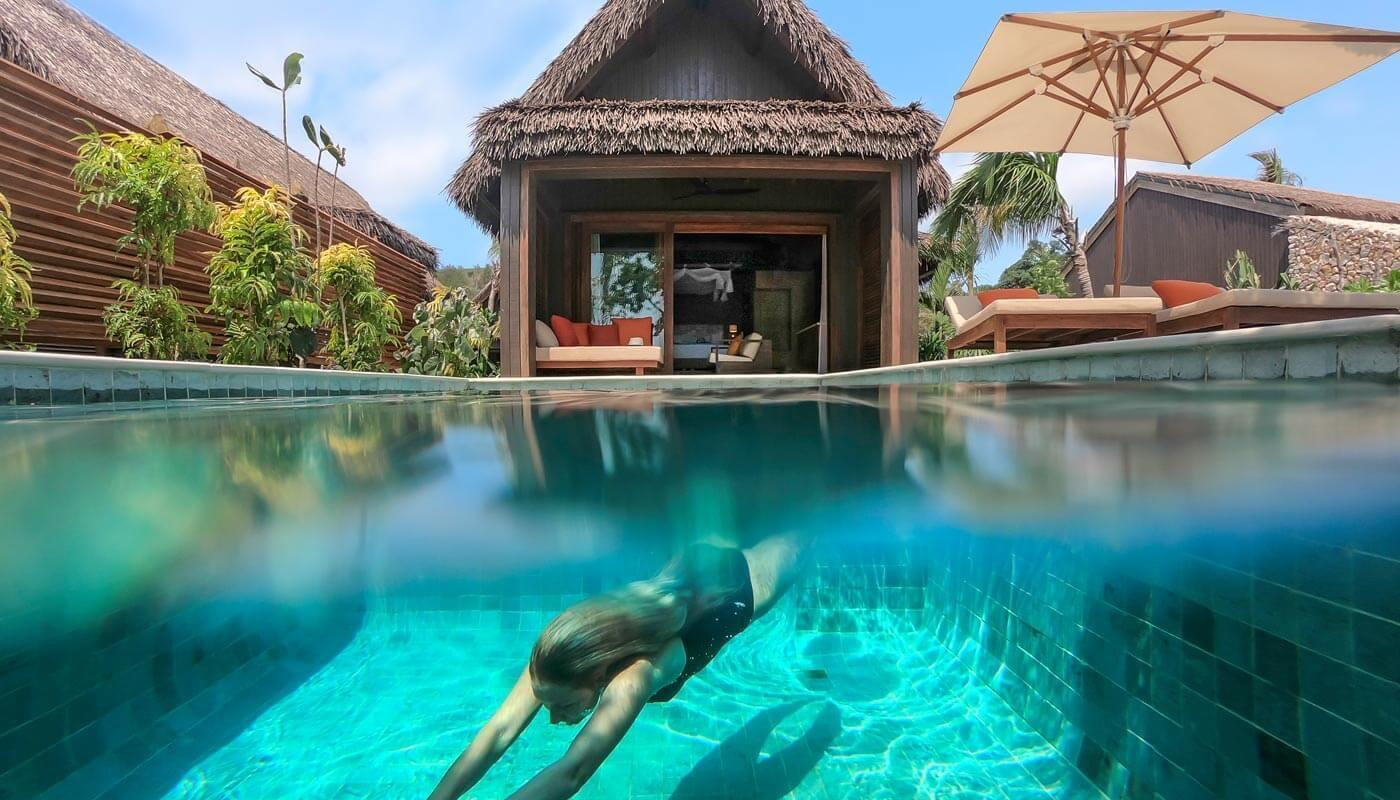 Pool Villa, Six Senses Fiji