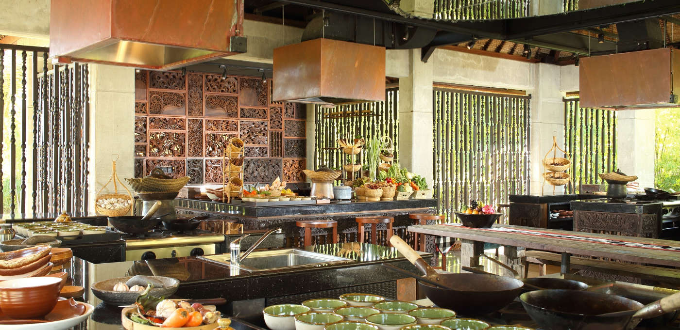 RIMBA Bali resort cooking classes