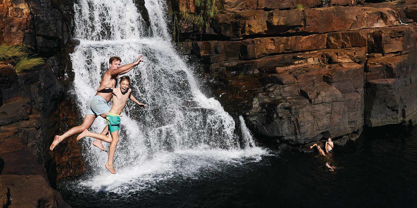 Waterfall Kimberley True North