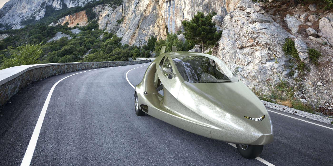 Samson Motors' flying sports car: flying cars