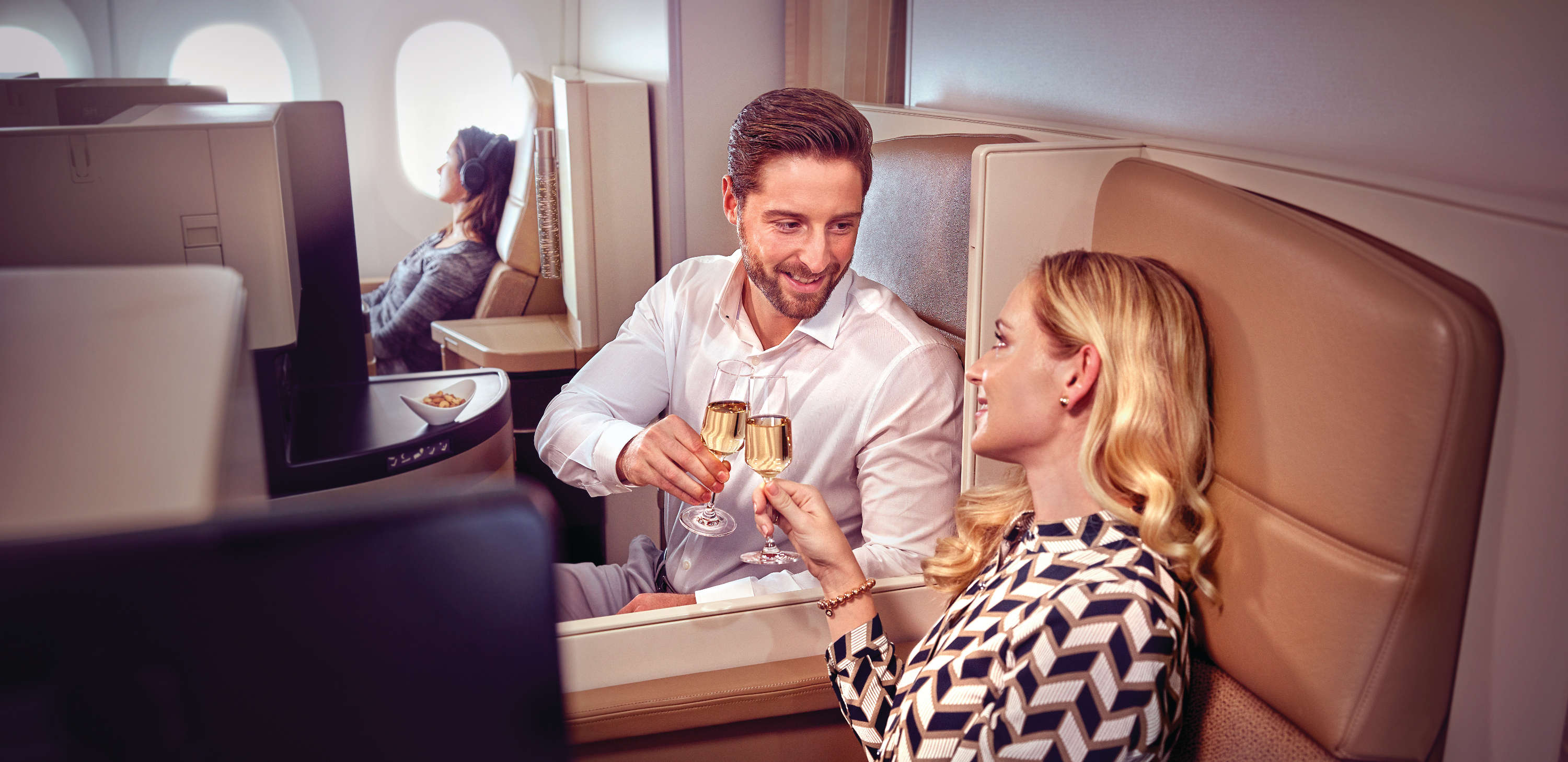 Etihad Airways business studio review