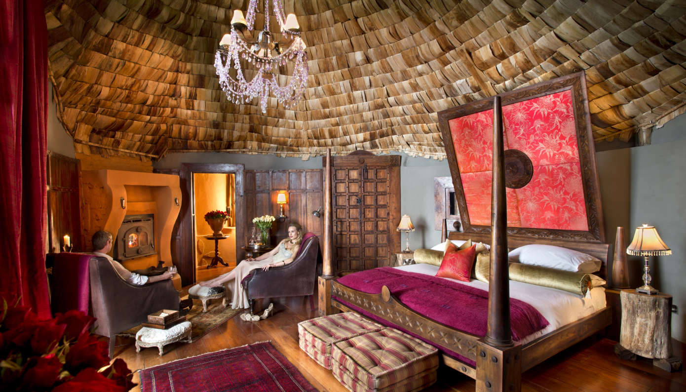 andBeyond Ngorongoro Crater Lodge, remote hotel