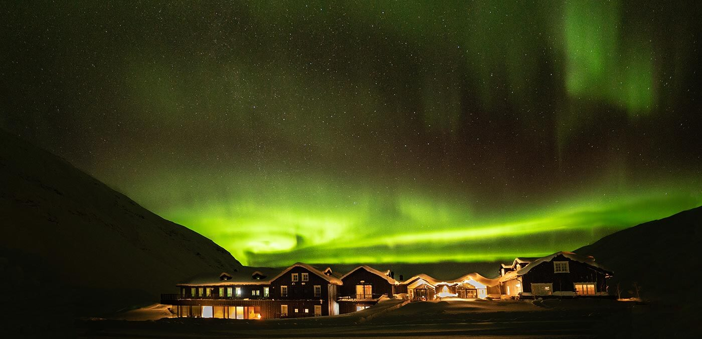 See the Northern Lights at Deplar Farm
