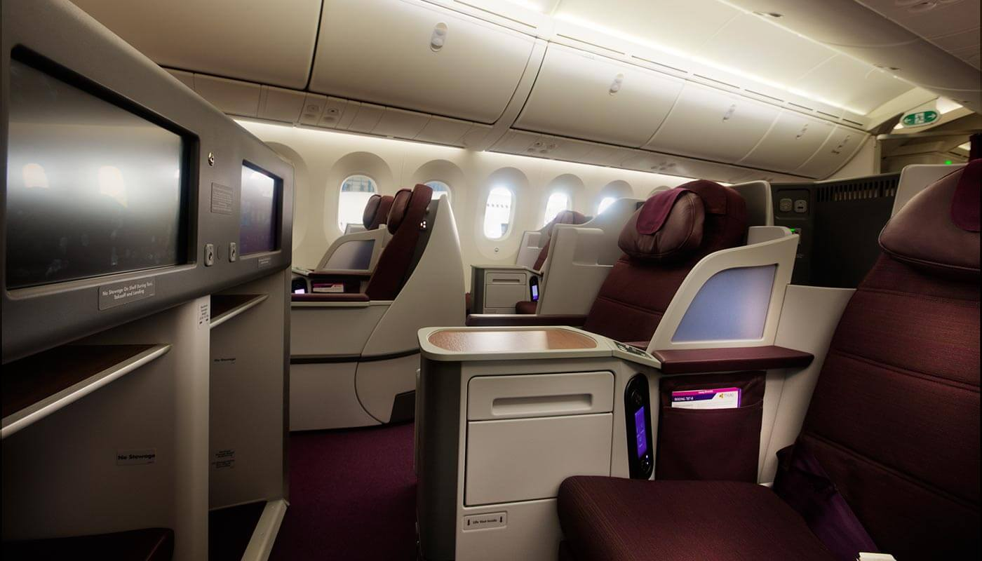 Thai Airways seat
