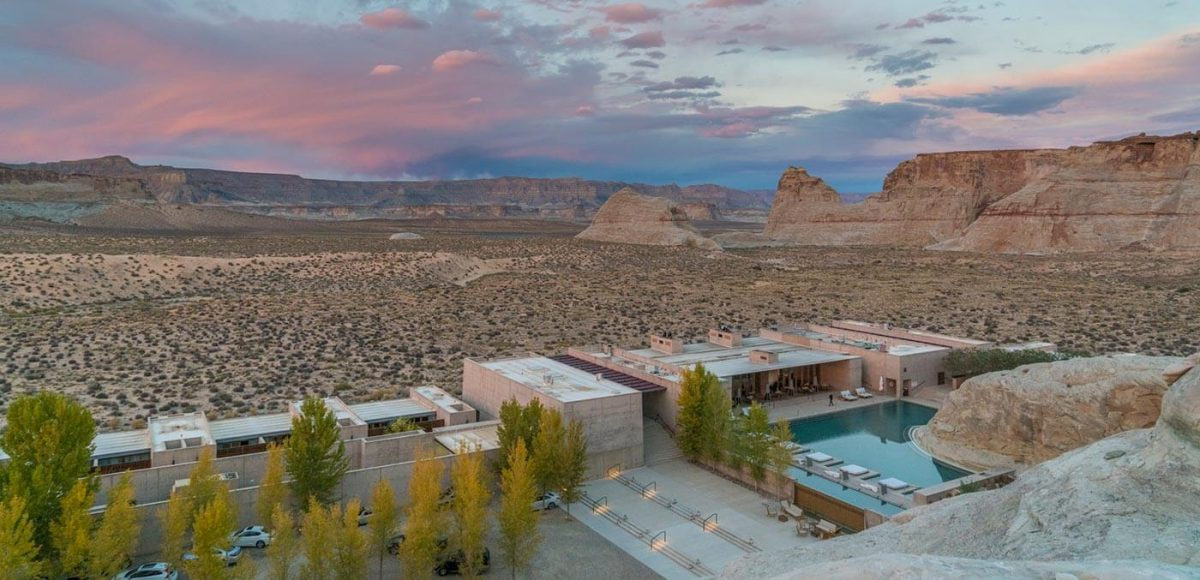 Views from Amangiri