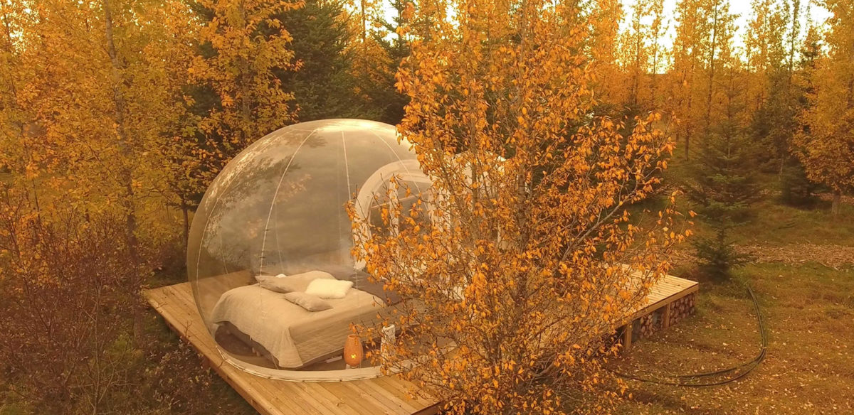 Best bubble hotels: Iceland buubble