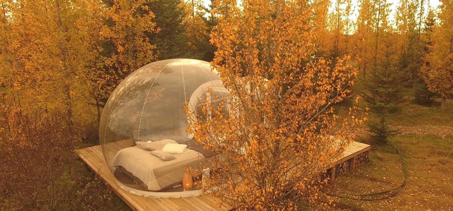 Best bubble hotels: Iceland buubble