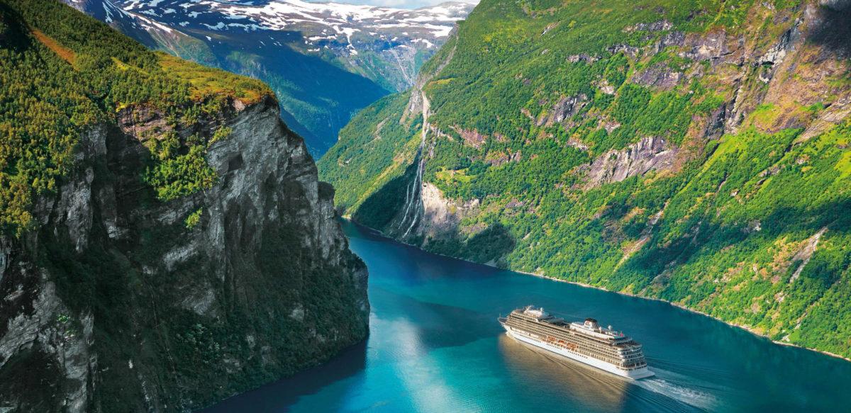 Sailing onboard Viking Sea