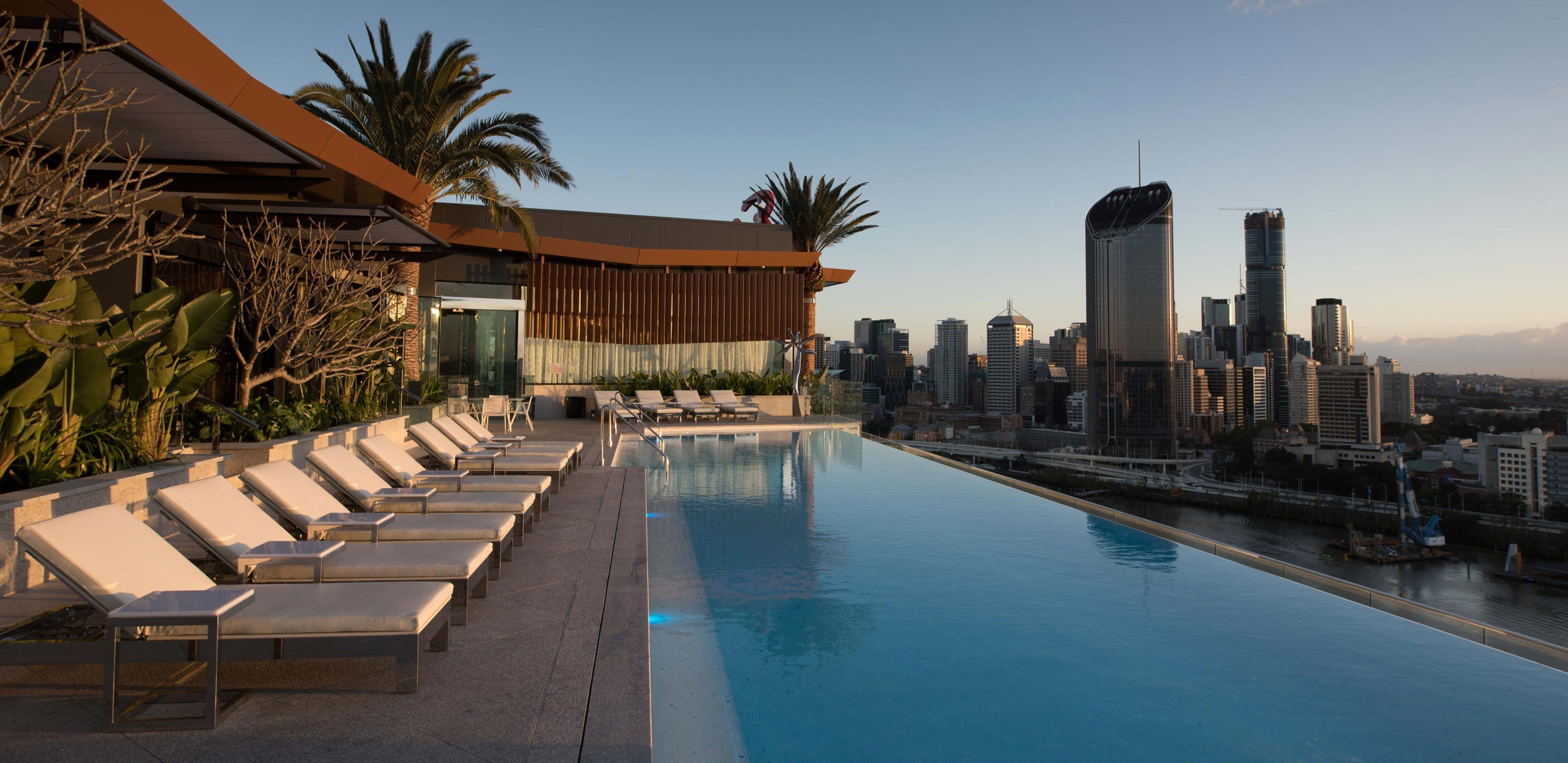 Emporium Hotel South Bank rooftop pool