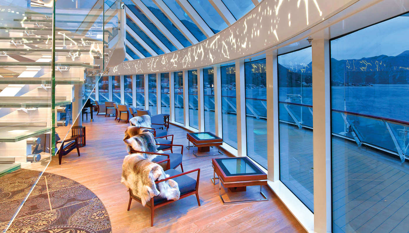 Explorers' Lounge Viking Sea