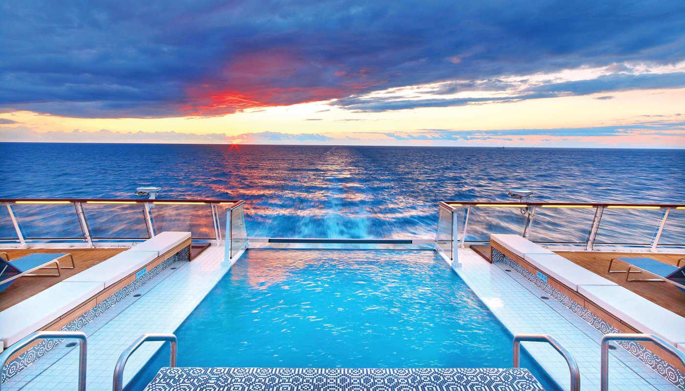 Infinity Pool onboard Viking Sea