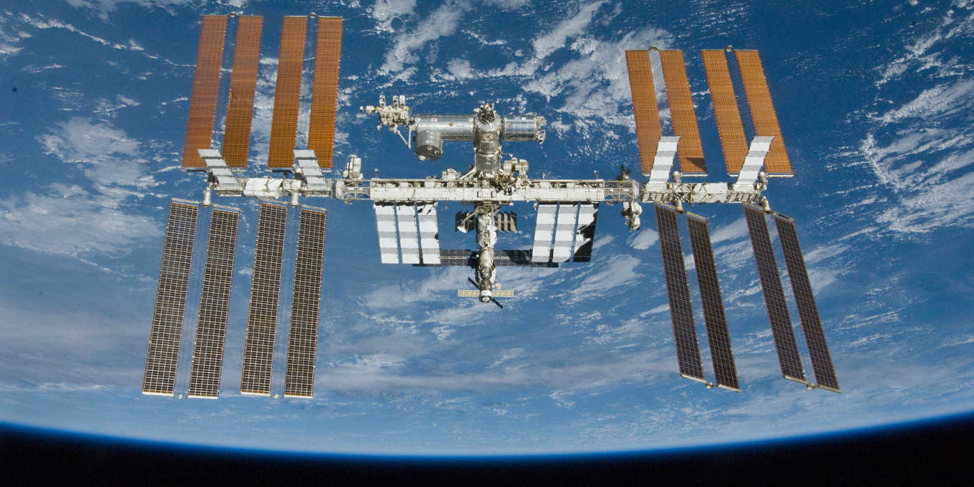 The view from the International Space Station with Space Adventures
