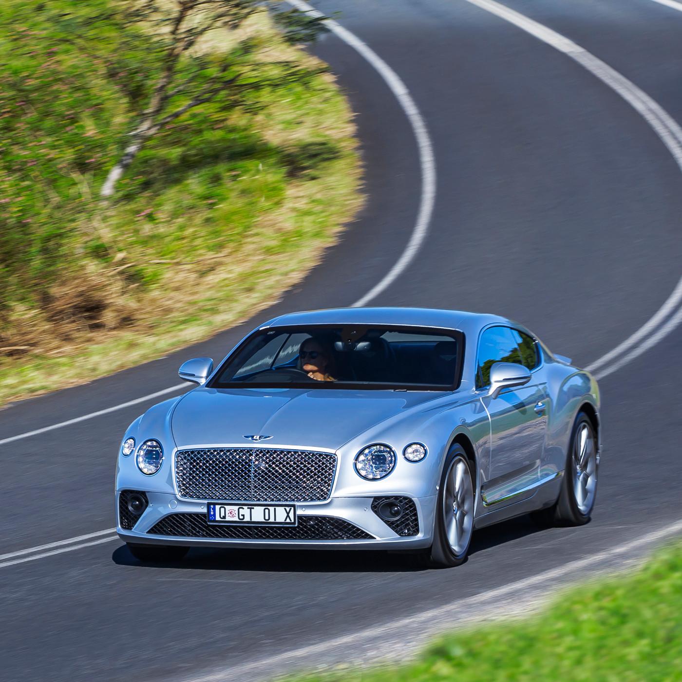The Next-generation Bentley Continental GT